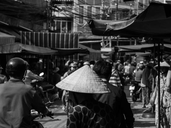 """""""Đầm"""" market"""