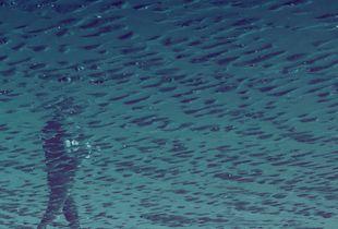 À travers l'eau-delà, je peux te sentir
