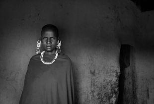 Portrait of a Maasai Woman