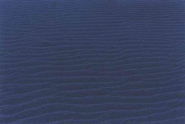 Wind patterns on the sand