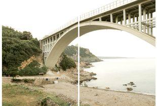 Calignaia (LI), ponte sulla via Aurelia, 2018