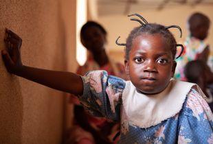 Burkinabe Church Girl