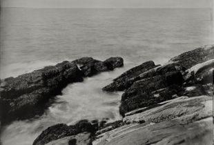 """""""Winslow Homer's View 1."""" 8x10""""  Wet-plate collodion tintype. © 2012 Keliy Anderson-Staley"""