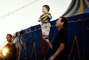 backstage circus festival