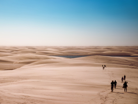Explorers in the Dunes