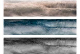 Waves III Triptych
