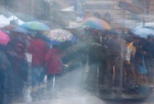 Colours in the rain