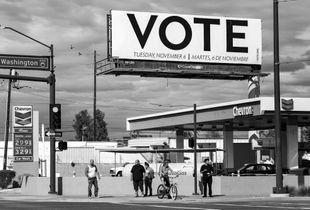 VOTE Billboard. Phoenix, AZ. October 16, 2018.