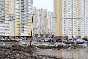 Akadem-Riverside district Chelyabinsk, 2020