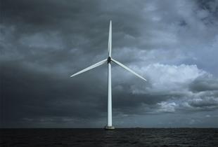 Middlegrunden Wind Farm, Øresund, Copenhagen, Denmark (MWØCD0106), 2014