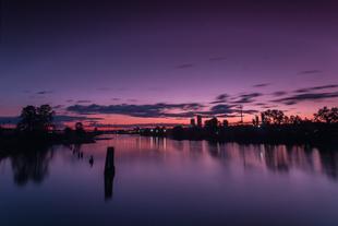 Mitchell Island Sunset