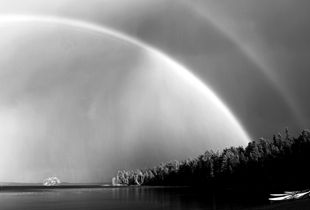 Rainbows with Boats