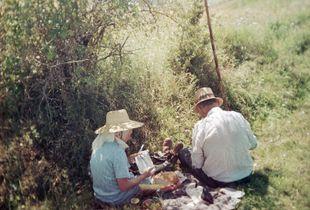 Lunch break (Siklód, Romania, 2005)