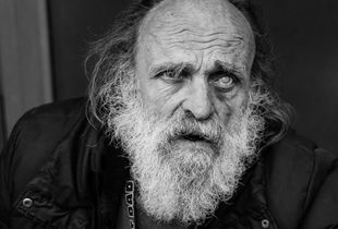 Old man with white beard