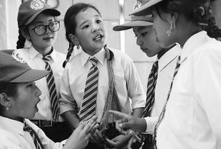 Siddhartha School Girls Conversation