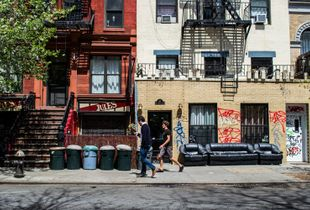 A passeggio nell'East Village - New York