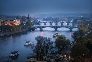 Bridges on Veltava River