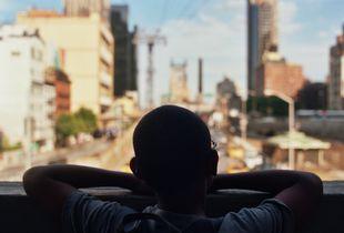 Andre in New York