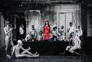 """Last Supper in Chernobyl "" Last Supper #1"