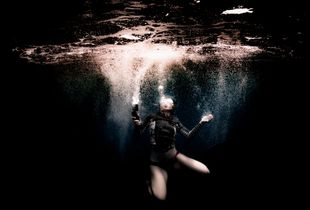 Light in the Dark ocean
