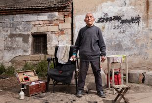 Village Hairdressers in China
