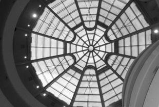 NYC Guggenheim Museum's Ceiling