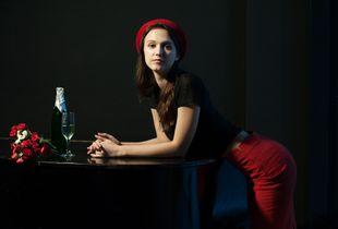 Actress Victoria Troitskaya.