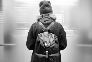 Meditation in the Subway, New York City