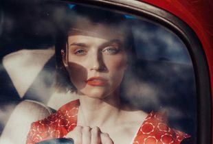 Lolita in the car