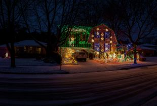 The Musson Family Display, Burlington, Ontario, Canada, December 2011