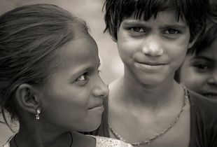 The Indian girl with Mona Lisa's smile