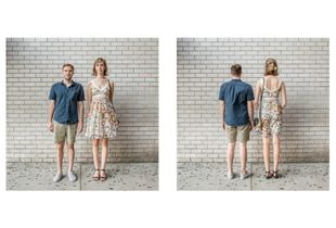 Young couple, NYC