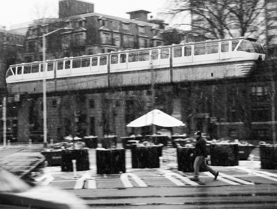 Snowy Monorail