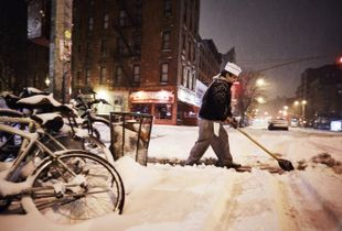 JUNO SNOW STORM IN NYC