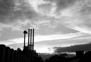 Sky over the Alexandra Road Estate