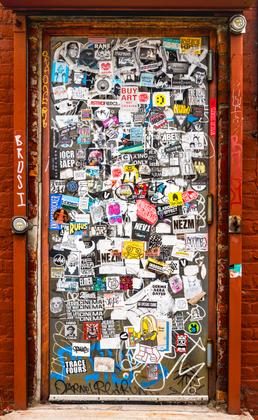 door, N. 12th St., Brooklyn, NY