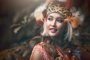 Orang Ulu costume