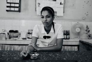 Bar woman