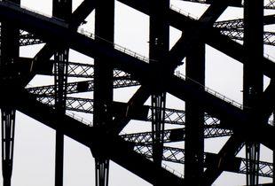 Sydney Harbour Bridge - detail