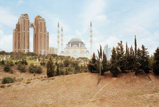 Atasehir Mimar-Sinan Mosque, Atasehir, Istanbul, 2015, completed in 2012