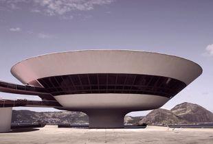 Niterói Contemporary Art Museum, Rio de Janeiro