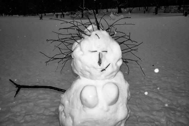 Snowman Portrait 5