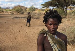 So far, so close. Morning hunt with Hadzabe hunters, Tanzania