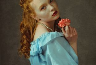 Lady with Carnation