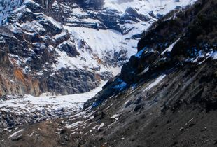 Tronador Mountain below zero celsius