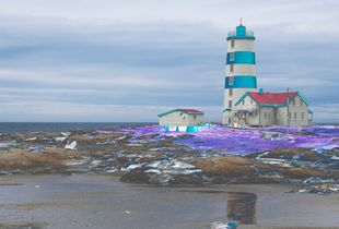Solarized Lighthouse On The St-Lawrence