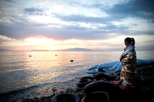 Lesbos - Hotspot for refugees and migrants