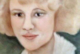 Lurine Kirsch in her twenties.