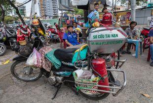 Motorbike Ambulance Ho Chi Minh City