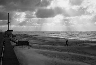 Marche contre le vent